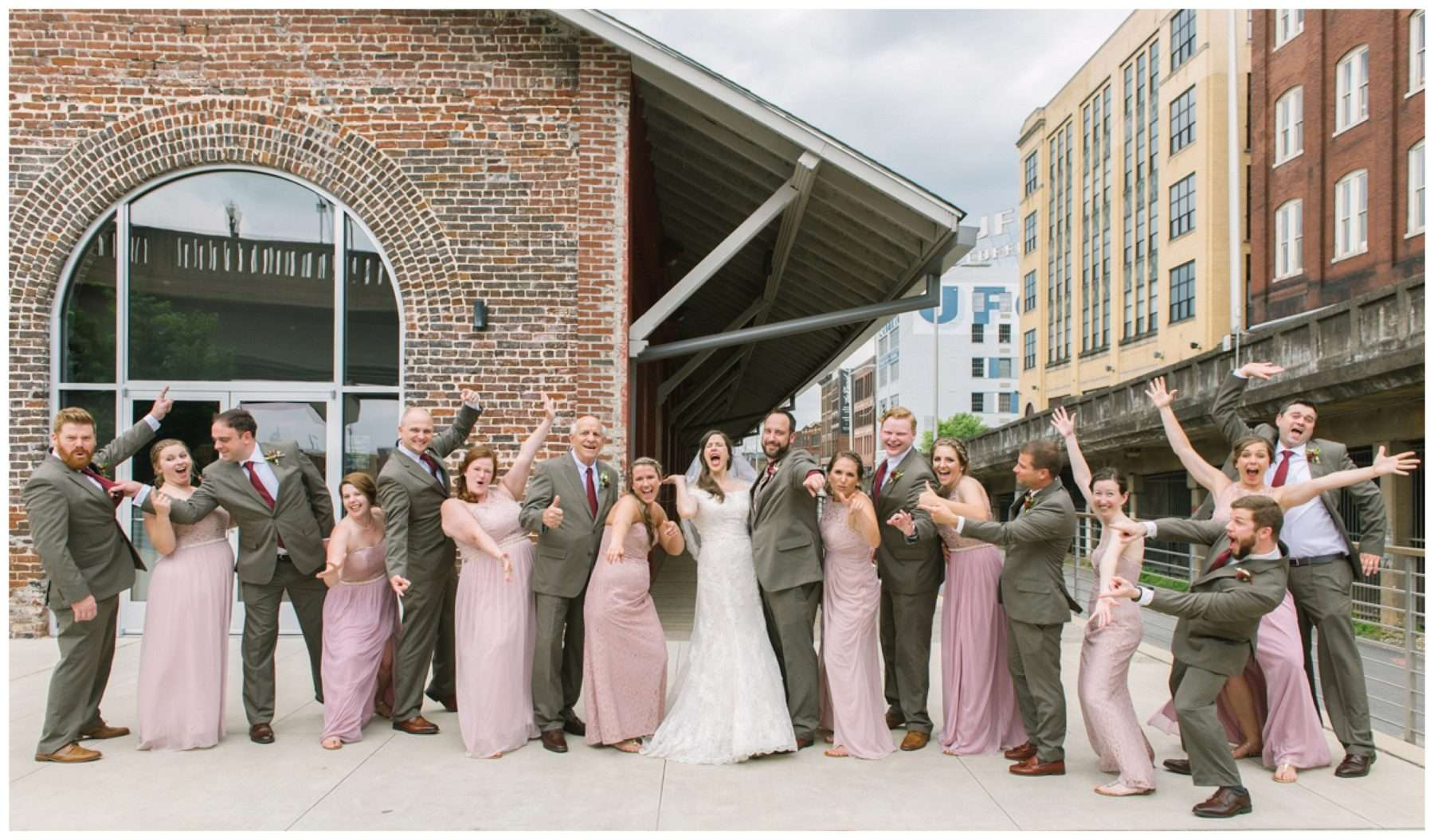 Jackson Terminal Wedding