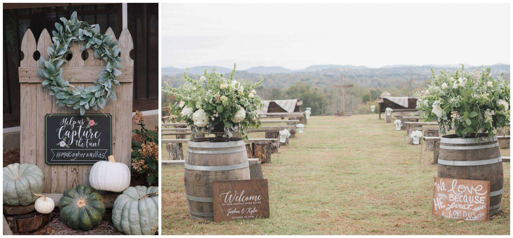 Estate of Grace Farm Wedding. Corryton, Tennessee